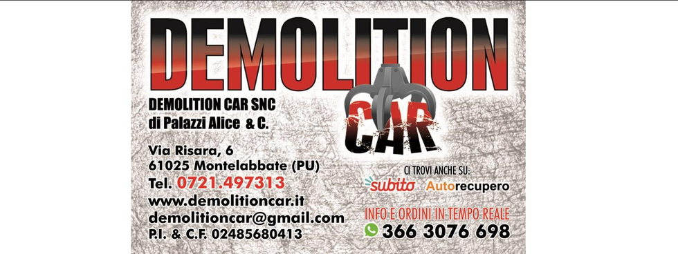 Demolition Car