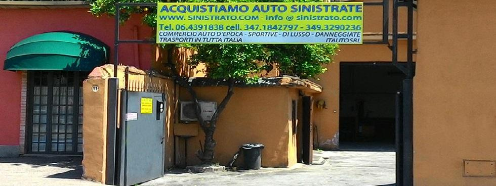 COMMERCIO AUTO SINISTRATE/INCIDENTATE/ALLUVIONATE