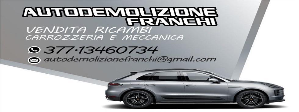 AUTO DEMOLIZIONE FRANCHI 377-3460734