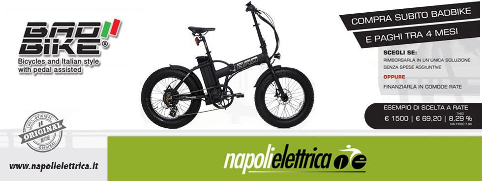 Napolielettrica - Bici, Scooter e Moto elettriche