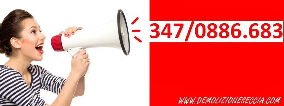AutoDemolizione SECCIA  chiama -->347/0886.683 <--