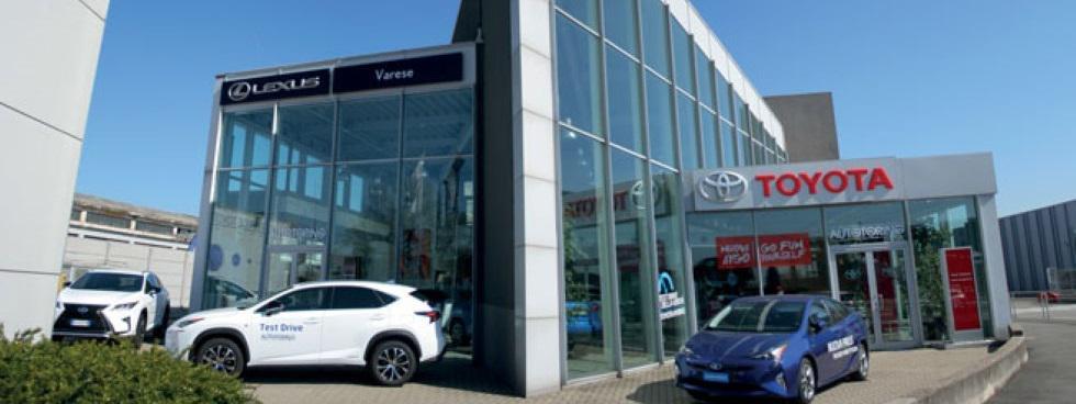 Gruppo Autotorino  Filiale di Busto Arsizio Toyota