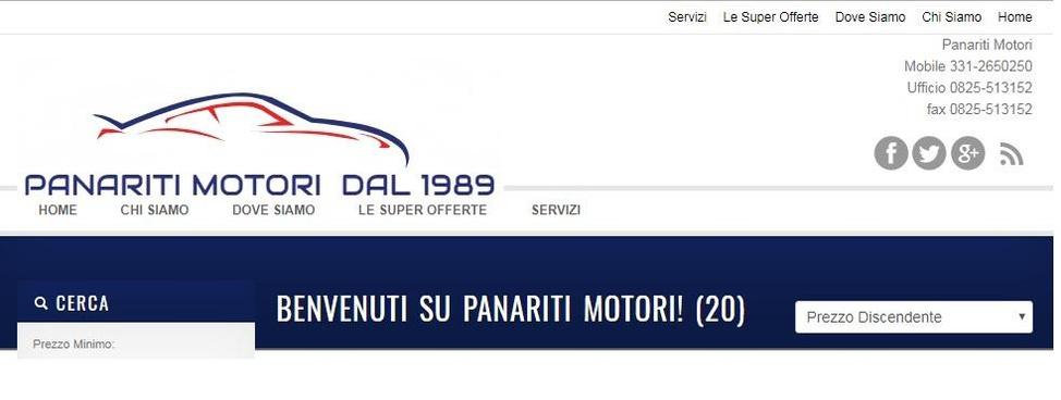 PANARITI MOTORI dal 1989