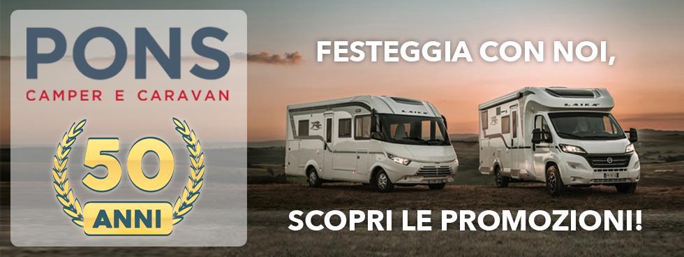 Pons Srl Camper e Caravan a Genova e Firenze
