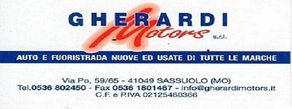 GHERARDI MOTORS - SASSUOLO