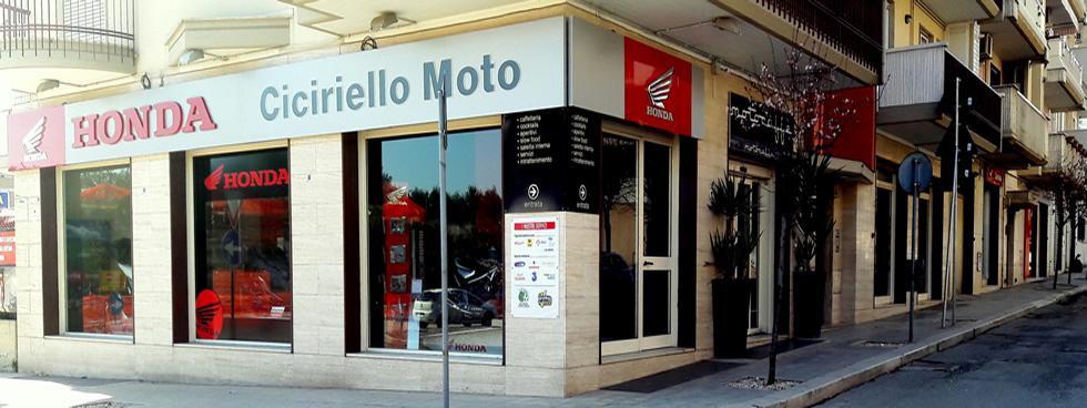 CICIRIELLO MOTO S.R.L - Conc. Esclusiva HONDA