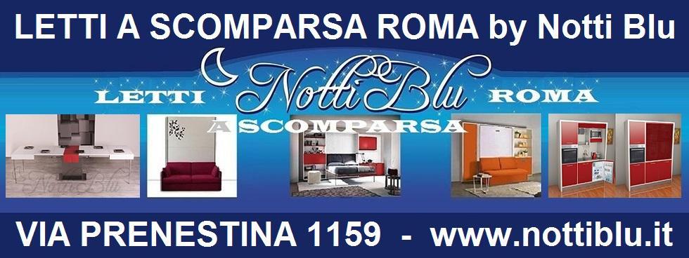LETTI A SCOMPARSA ROMA -CUCINE Via PRENESTINA 1159