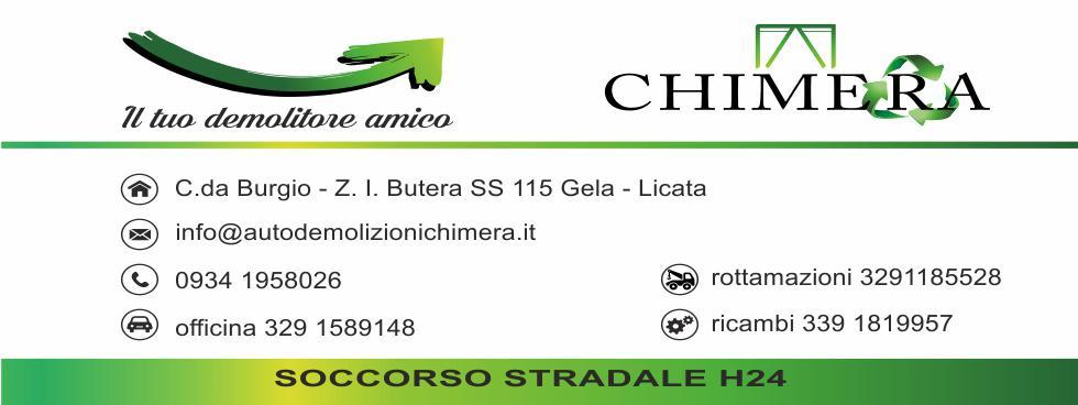 Autodemolizioni Chimera E-Shop