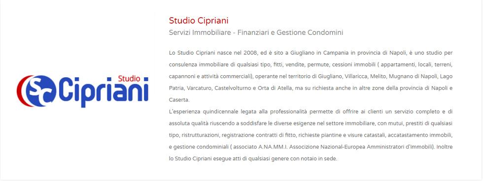 STUDIO CIPRIANI SERVIZI IMMOBILIARI