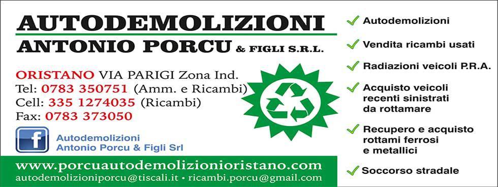 AUTODEMOLIZIONI ANTONIO PORCU & FIGLI S.R.L