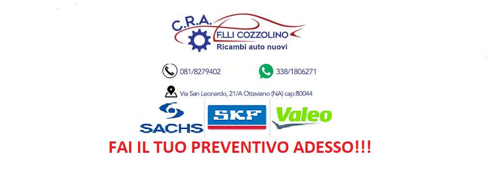CENTRO RICAMBI AUTO F.LLI COZZOLINO S.N.C.