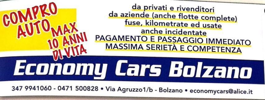 Economy cars bolzano bolzano subito impresa for Subito it bolzano arredamento