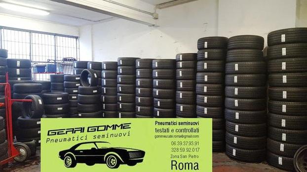 Gerri Gomme Usate - Roma - Vendo gomme come nuove(dal 80% in  su)so - Subito