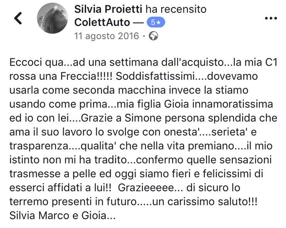 ColettAuto - San Vittore del Lazio - Tutte le nostre auto vengono acquistate - Subito Impresa+