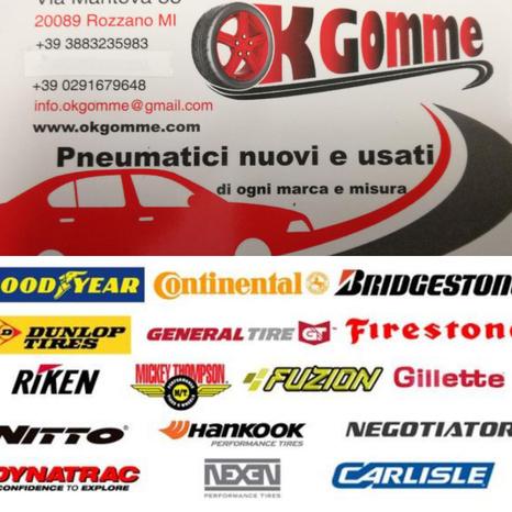OK GOMME - Rozzano - OK Gomme è un rivenditore di pneumatici - Subito Impresa+