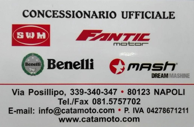 CATAMOTO - Napoli - Siamo Concessionari e Rivenditori Uffici - Subito Impresa+