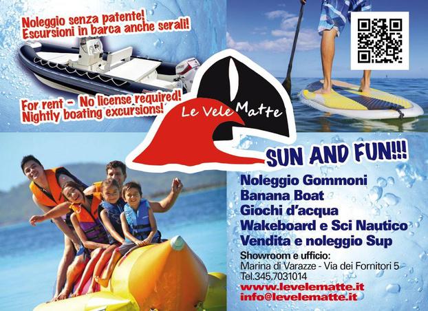 Le Vele Matte srl - Varazze - Noleggio e Vendita di imbarcazioni con e - Subito Impresa+