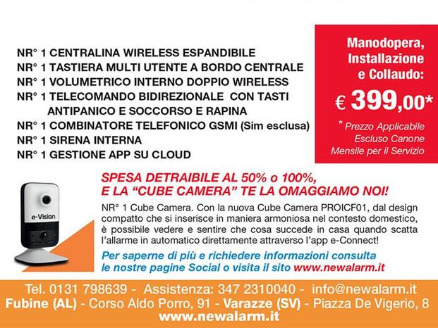 NEW ALARM S.R.L. - Fubine Monferrato - Siamo partner apprezzati da centinaia di - Subito Impresa+