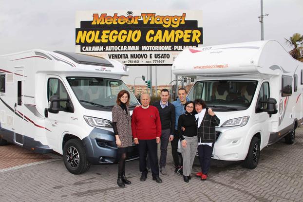 Meteor Viaggi vendita camper nuovi usati noleggio - Rimini - Meteor Viaggi è azienda leader  nel set - Subito Impresa+