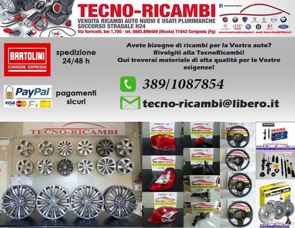 TECNO RICAMBI - Cerignola - TECNO RICAMBI garantisce ricambi  accura - Subito Impresa+