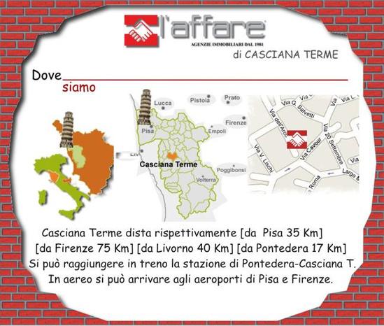 L'AFFARE CASCIANA TERME - Casciana Terme Lari - L'Agenzia L'affare Effeti s.a.s. di Benv - Subito Impresa+
