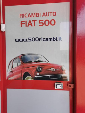 500Ricambi - Salerno - Negozio di  autoricambi, ricambi per Fia - Subito Impresa+
