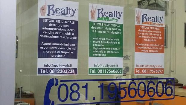 REALTY SERVIZI IMMOBILIARI SRL - Napoli - Realty è un' agenzia immobiliare con se - Subito Impresa+