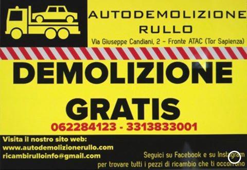 AUTODEMOLIZIONE RULLO - Roma - L'Autodemolizione Rullo nasce a Roma nel - Subito Impresa+
