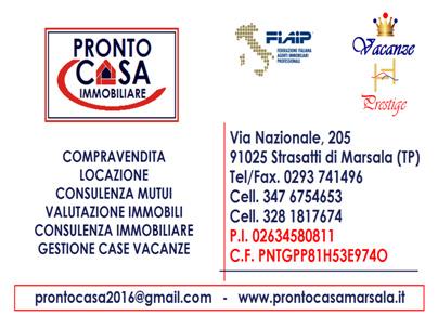 PRONTO CASA IMMOBILIARE - Marsala - L'agenzia Pronto Casa Immobiliare, assoc - Subito Impresa+