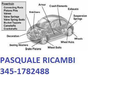 PASQUALE RICAMBI DI ROSCINO PASQUALE 345-1782488 - Cerignola - Siamo un ditta che fornisce circa l'80% - Subito Impresa+