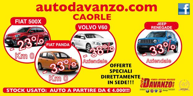 Auto Davanzo - Caorle - ECCO I NOSTRI SERVIZI!!!!  TUTTE le auto - Subito
