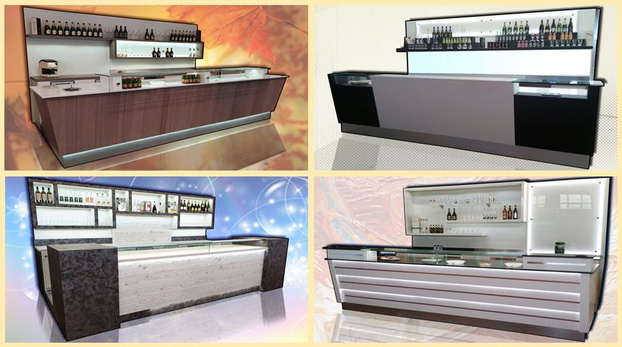 ginametal mobil - Milano - Offriamo Banchi bar su misura, a disegno - Subito Impresa+