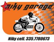 NIKY GARAGE logo