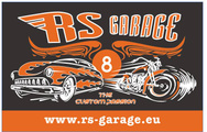 R.S. Garage logo