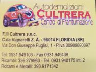 F.LLI  CULTRERA AUTODEMOLIZIONE