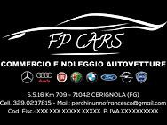 FP CARS COMMERCIO E NOLEGGIO AUTOVETTURE logo