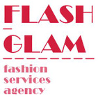 Flash-Glam, fashion services agency logo