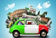 ITALIAN CAR RIVENDITORE RENAULT E DACIA logo