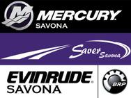 Mercury Savona - Saver - Evinrude - Humminbird logo