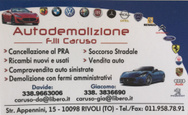 AUTODEMOLIZIONE FRATELLI CARUSO