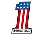 CYCLEDELIC GARAGE logo