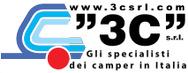 3C - Gli specialisti dei camper in Italia logo