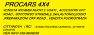 PROCARS 4X4 logo