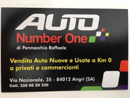 AUTO NUMBER ONE logo