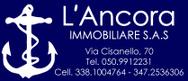 IMMOBILIARE L'ANCORA sas logo