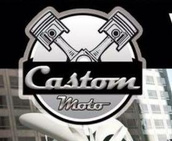 castom moto ricambi logo