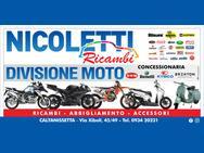 NICOLETTI RICAMBI AUTO&MOTO logo