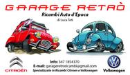 Garage Retro' Ricambi Citroen e VW d'Epoca