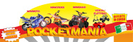 POCKETMANIA Minimoto, Minicross, Mini Quad bambini logo