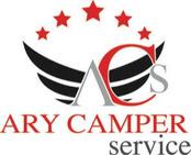 ARY CAMPER SERVICE logo